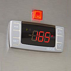 Easy to set top mounted digital control