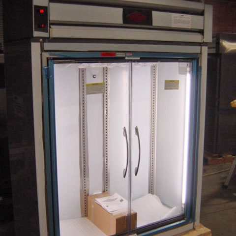 Frameless Glass Doors for Reach-In Refrigerators