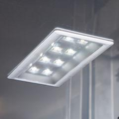Automatic interior LED lighting
