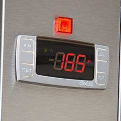 Easy to set, front-mounted digital control